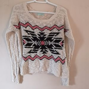 Maurices Scoopneck Patterned Sweater